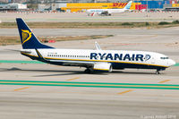 EI-EVN @ LEBL - Taxiing at Barcelona - by James Abbott