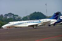 PK-OME @ WIIH - Embraer ERJ-135BJ Legacy [145516] (Airfast Indonesia) Jakarta-Halim Perdanakusuma Int~PK 25/10/2006 - by Ray Barber