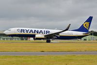 EI-ENE @ EGHH - Touchdown of current resident aircraft - by John Coates