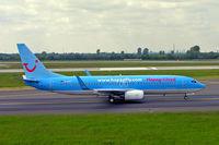D-AHFY @ EDDL - Boeing 737-8K5 [30417] (Hapagfly) Dusseldorf~D 18/05/2006 - by Ray Barber