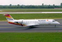 OE-LCP @ EDDL - Canadair CRJ-200LR [7480] (Tyrolean Airways) Dusseldorf~D 18/05/2006 - by Ray Barber