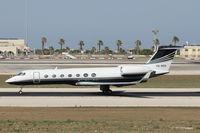 VQ-BGN @ LMML - Gulfstream GV VQ-BGN - by Raymond Zammit