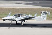 G-DOSC @ LMML - Diamond DA-42MPP G-DOSC (ZA181) RAF