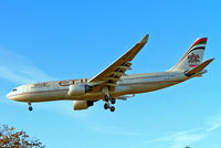 A6-EYX @ EGLL - Airbus A330-223 [232] (Etihad Airways) Heathrow~G 07/09/2005. On finals 27L. - by Ray Barber