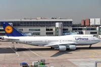 D-ABVR @ EDDF - Boeing 747-430 [28285] (Lufthansa) Frankfurt~D 08/09/2005 - by Ray Barber