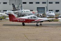 G-OACA @ EGHH - At Airtime - by John Coates