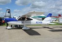 N224RM @ EGBK - N224RM at AeroExpo Sywell 2.7.16