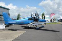 N644MW @ EGBK - N644MW at AeroExpo Sywell 2.7.16
