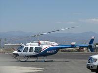 N1085T @ OXR - 1980 Bell 206L-1 LongRanger II, one Allison 250-C28B Turboshaft 500 shp, on Aspen's ramp - by Doug Robertson
