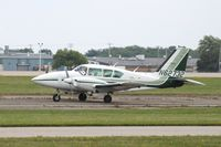 N62732 @ KOSH - Piper PA-23-250 - by Mark Pasqualino