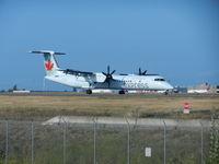 C-GJZX @ KSEA - Landing 16R at Seattle KSEA - by Patrick Sullivan