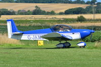 G-JAME @ X3CX - Just landed at Northrepps. - by Graham Reeve