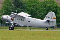 LY-BIG @ EGDV - Antonov AN-2T [1G236-23] (Air Unique) Hullavington~G 21/05/2005