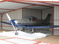 G-LLOY @ EGCV - hiding in open hangar - by magnaman