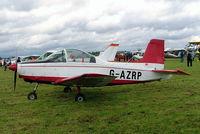 G-AZRP @ EGDV - Victa Airtourer T.2 [A.529] Hullavington~G 21/05/2005 - by Ray Barber