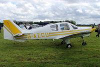 G-AZCU @ EGDV - Beagle B.121 Pup 100 [B121-162] Hullavington~G 21/05/2005 - by Ray Barber