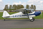 G-BSYG @ EGBR - Piper PA-12 at Breighton Airfield in April 2011. - by Malcolm Clarke