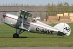 G-ABVE @ EGBR - Arrow Active 2 at The Real Aeroplane Company's April Fools Fly-In, Breighton Airfield, April 1st 2012. - by Malcolm Clarke