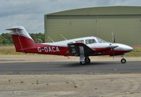 G-OACA @ EGHH - Taxiing from Airtime - by John Coates
