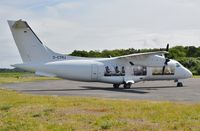 D-CTRJ @ EGHH - Decals just applied for Farnborough Show - by John Coates
