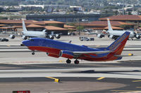 N917WN @ PHX - taking off from Phoenix - by olivier Cortot