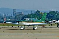JA4145 @ RJNA - Socata TB-10 Tobago [1236] Nagoya-Chubu~JA 04/11/2005. Suffering from a bit of heat haze.