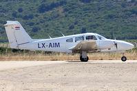 LX-AIM @ LFKC - Taxiing - by micka2b