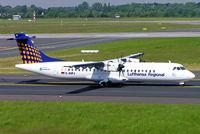 D-ANFJ @ EDDL - Aerospatiale ATR-72-212A [664] (Lufthansa Regional/Contact Air) Dusseldorf~D 19/05/2005 - by Ray Barber
