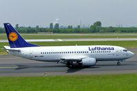 D-ABEE @ EDDL - Boeing 737-330 [25216] (Lufthansa) Dusseldorf~D 19/05/2005 - by Ray Barber