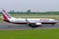 D-ABAU @ EDDL - Boeing 737-86J [29121] (Air Berlin) Dusseldorf~D 19/05/2005 - by Ray Barber