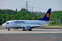 D-ABIC @ EDDL - Boeing 737-530 [24817] (Lufthansa) Dusseldorf~D 19/05/2005 - by Ray Barber