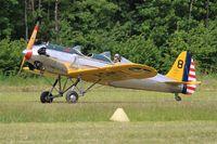 N53018 @ LFFQ - Ryan Aeronautical ST3KR, Landing rwy 28, La Ferté-Alais airfield (LFFQ) Airshow 2015 - by Yves-Q