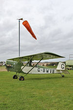 G-BWVB @ X5FB - Pietenpol Air Camper, at Fishburn Airfield, October 25th 2015. - by Malcolm Clarke