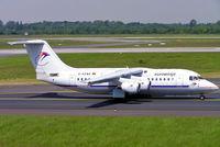 D-AEWE @ EDDL - BAe 146-200 [E2077] (Eurowings) Dusseldorf~D 19/05/2005 - by Ray Barber
