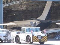 9H-AHA @ EGHH - In hangar at hurn - by magnaman