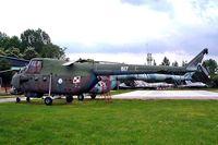 617 - Mil Mi-4ME Hound [06175] (Ex Polish Air Force) Krakow Museum-Malopolskie~SP 20/05/2004 - by Ray Barber