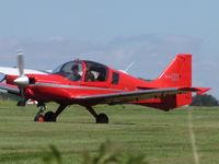 G-GRRR @ EGHA - pre flight checks - by magnaman