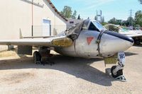 J-1183 - De Havilland Vampire FB.6, preserved at les amis de la 5ème escadre Museum, Orange - by Yves-Q