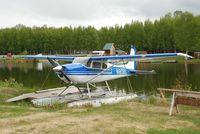 N180BS @ LHD - N180BS Lake Hood AK - by Jack Poelstra