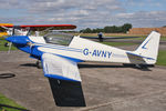 G-AVNY @ EGBR - Sportavia Fournier RF4D at Breighton Airfield's Summer Fly-In, August 2011. - by Malcolm Clarke