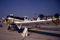 YR-MGF @ LFPB - IAR-827A cropsprayer at Le Bourget 1981 - by Van Propeller