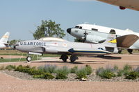 57-0590 @ KRCA - At the South Dakota Air & Space Museum - by Glenn E. Chatfield