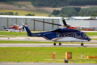 G-VINP @ EGPD - In action at Aberdeen - by Clive Pattle