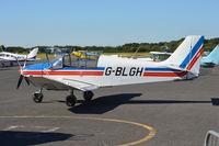 G-BLGH @ EGTB - Robin DR300/180R at Wycombe Air Park. Ex D-EAFL - by moxy