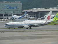 B-5442 @ VHHH - awaiting departure from HKG - by magnaman