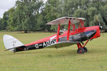 G-ADGV @ X1WP - De Havilland DH-82A Tiger Moth II at The De Havilland Moth Club's 28th International Moth Rally at Woburn Abbey. August 18th 2013. - by Malcolm Clarke