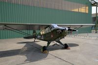 F-BKNO @ LFOT - Piper L-4J Grasshopper, Static display, Tours-St Symphorien Air Base 705 (LFOT-TUF) Open day 2015 - by Yves-Q