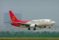 B-2635 @ ZGSZ - Boeing 737-79K [29191] (Shenzhen Airlines) Shenzhen-Baoan~B 22/10/2006 - by Ray Barber