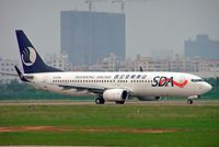 B-5119 @ ZGSZ - Boeing 737-85N [33665] (Shandong Airlines) Shenzhen-Baoan~B 22/10/2006 - by Ray Barber