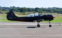 G-SPUT @ EGFH - Visiting Yak-52. - by Roger Winser
